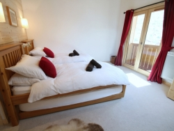 Charming bedrooms at Chalet Jouet in Morzine