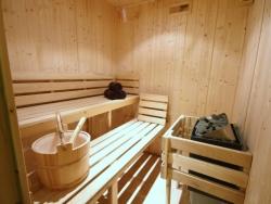 Our sauna at Chalet Jouet