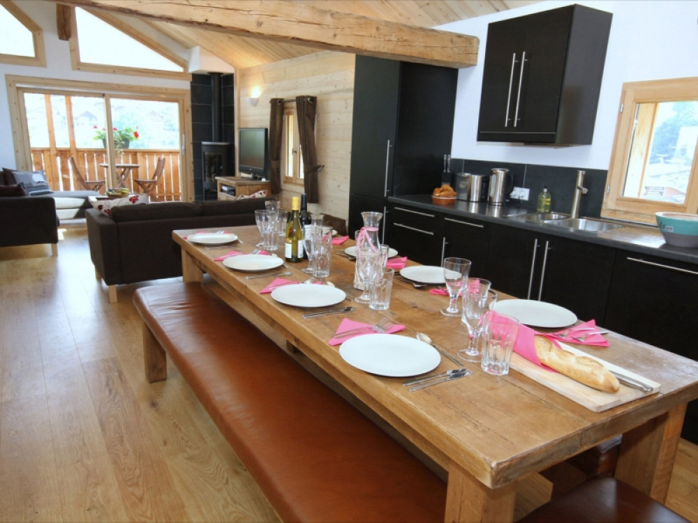 A well equipped kitchen ideal for self catered guests