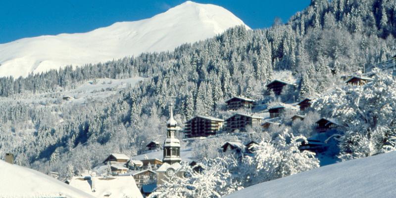 The mountain resort of Morzine an idyllic ski destination in France's Portes du soleil