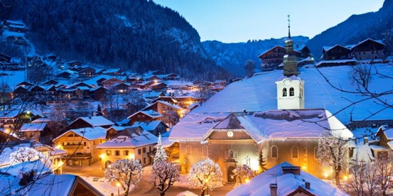 The Ski resort of Morzine a excellent ski destination in France's Portes du soleil