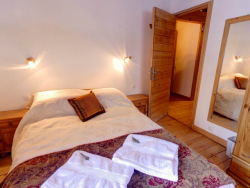 Attractive bedrooms at Chalet La Forge in Meribel