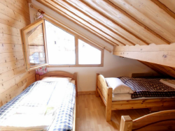 Charming bedrooms at Chalet La Forge in Meribel