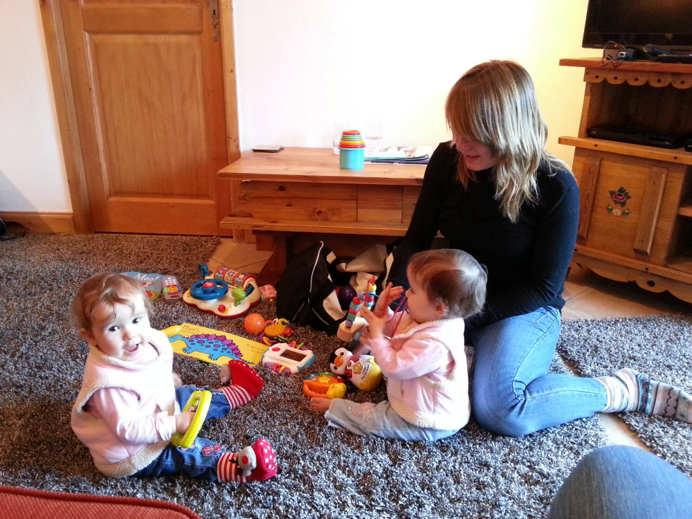 Our nannies will care for your children in the comfort of your chalet