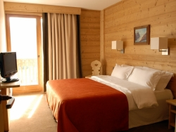 Lovely bedrooms at The Foxtrot in Courchevel 1850