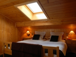 One of Chalet Payana's welcoming bedrooms, we accommodate up to 6
