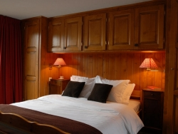 Comfortable bedrooms at Chalet Payana in Verbier