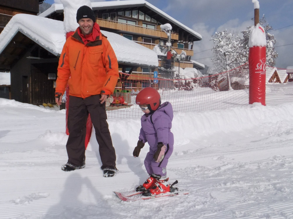 Child care options available at Chalet Aventure