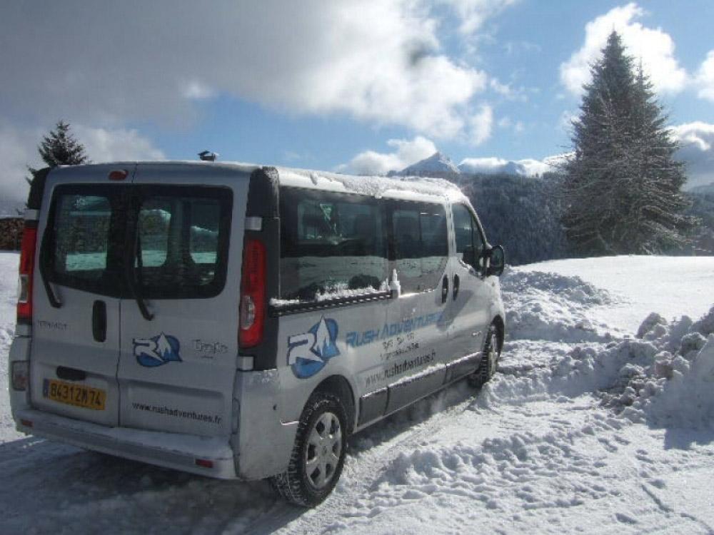 The Rush Adventure transfer service