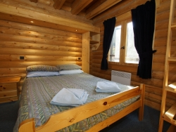 Comfortable bedrooms at Chalet Christine in La Tania