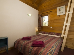 Example of Chalet Lea's charming bedrooms