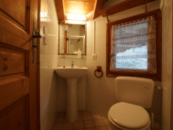 One of the 6 bathrooms at Chalet Lea