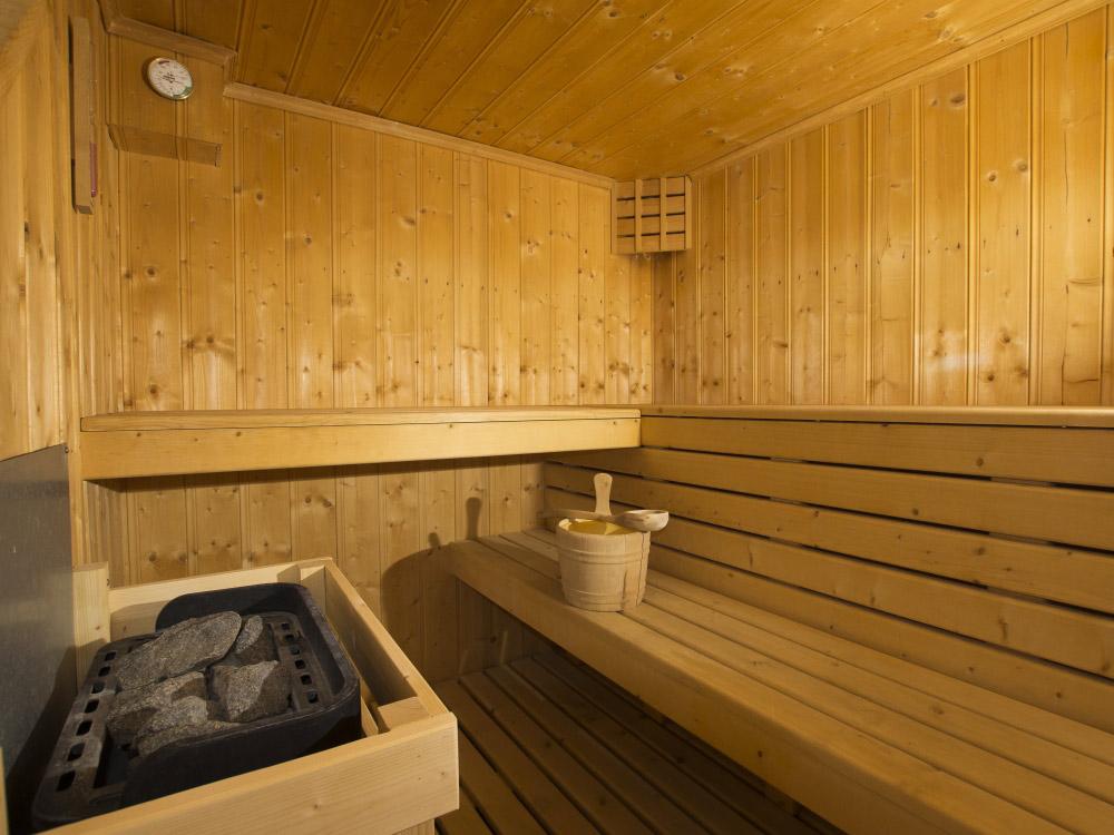 Our sauna at Chalet Anniek
