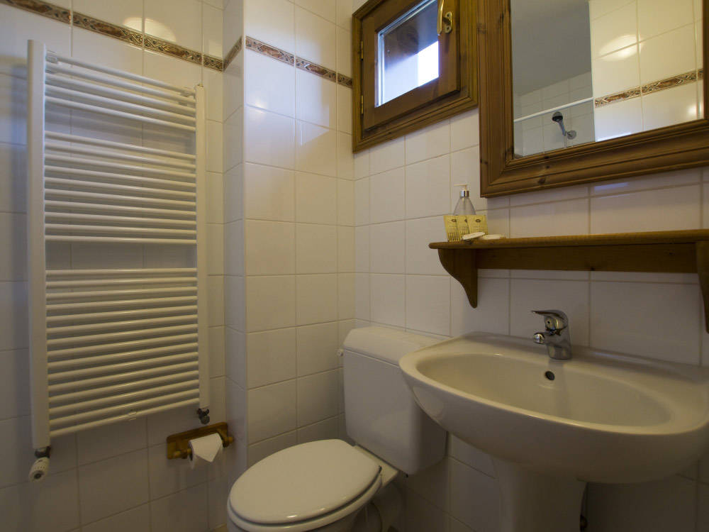 One of the 7 bathrooms at Chalet Balkiss