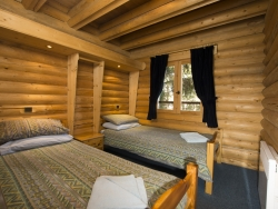 Welcoming bedrooms at Chalet Christine in La Tania