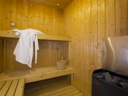 The sauna facility of Chalet Balkiss