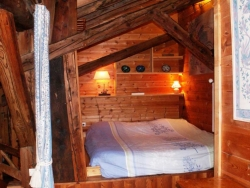 Example of Chalet Laiterie's charming bedrooms