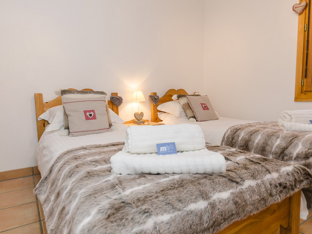 All the Chalet's bedrooms are beautifully furnished and provide a homely touch to your holiday