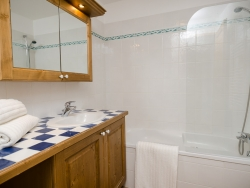 One of the Chalet's bathrooms, which are all furnished to the highest standard