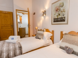 The chalet is expertly furnished and offers a cosy, homely feel