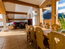 The Chalet boasts stunning and spectacular views over the surrounding area