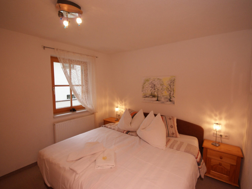 Enjoy a peaceful nights sleep in the double bedroom.