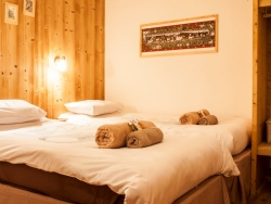 Charming bedrooms at Donard in Morzine