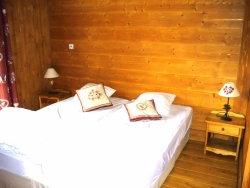 Comfortable bedrooms at Chalet Chery des Meuniers in Morzine