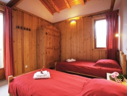 Lovely bedrooms at Chalet Ancolies Lodge in La Plagne