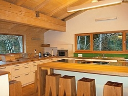An ideally equipped kitchen ideal for self catered cooking