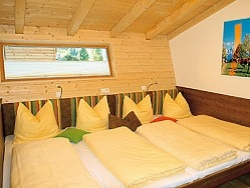 Comfortable bedrooms at ALPIN CHALET - Filzmoos in Flachau