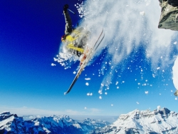 Engelberg is reknowned for its spectacular freeride skiing