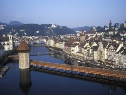 The beautiful city of Lucerne is close by