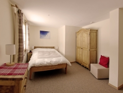 One of the light and bright  bedrooms, with lovely comfortable beds and down duvets
