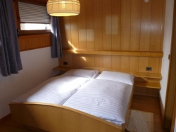 Lovely bedrooms at Chalet Zirm in Val Gardena