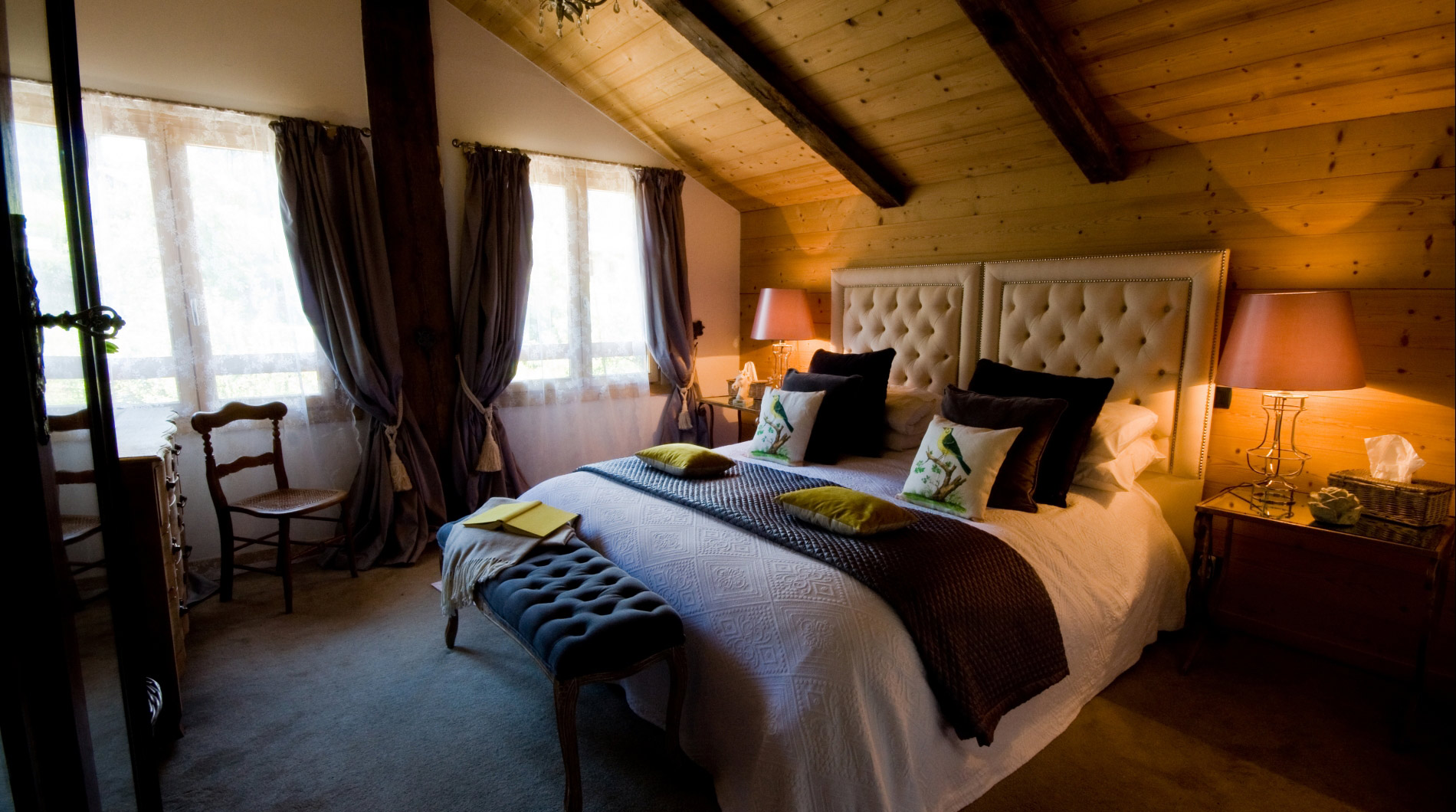 Bedrooms have the finest linen for maximum comfort & lovely furnishings
