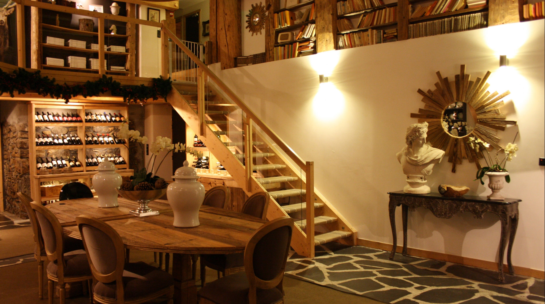 A chalet full of character, open spaces & quality furnishings.