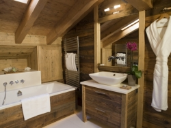 Comfortable bedrooms at Chalet Ighzer in Nendaz