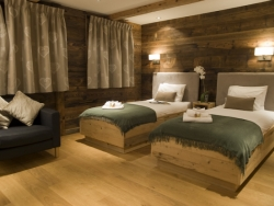 Lovely bedrooms at Chalet Ighzer in Nendaz