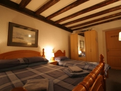 One of Chalet Chantelle's welcoming bedrooms