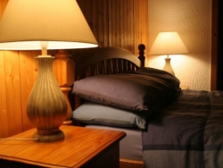 Attractive bedrooms at Chalet Chantelle in Morzine