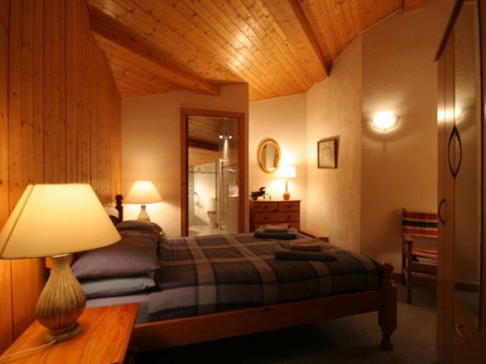 Lovely bedrooms at Chalet Chantelle in Morzine