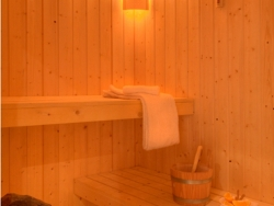 Sauna AND hot tub -  fabulous facilities at Chalet La Luge