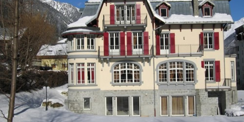 Comfortable La Grande Savoyarde in Chamonix for up to 8